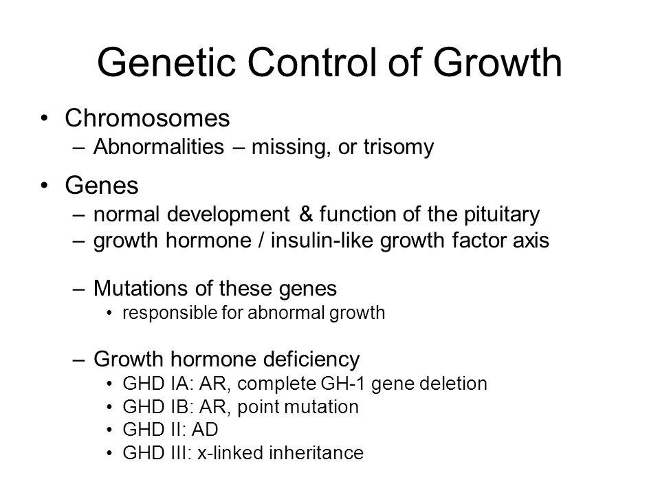 Chromosomal Abnormality Somatic –Down syndrome Sex chromosome –Turner syndrome Short stature (< 144cm) Gonadal dysgenesis Skeletal deformity –Cubitus valgus –Short metacarpals