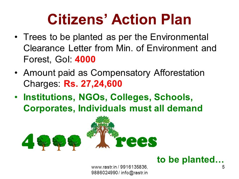 www.rastr.in / 9916135836, 9886024990 / info@rastr.in 6 References Environmental Clearance given by SEIAA, Min.