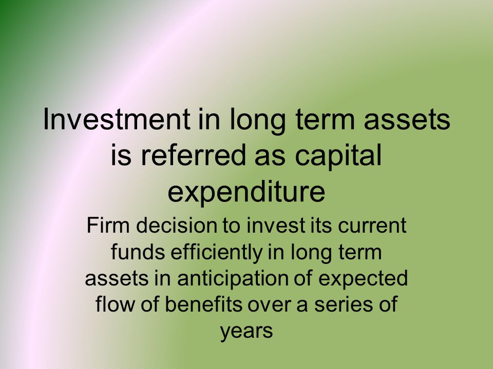Importance of capital budgeting decisions Growth More risky Huge investments Irreversibility Effect on other projects Difficult decision