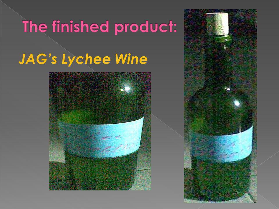 JAG's Lychee Wine