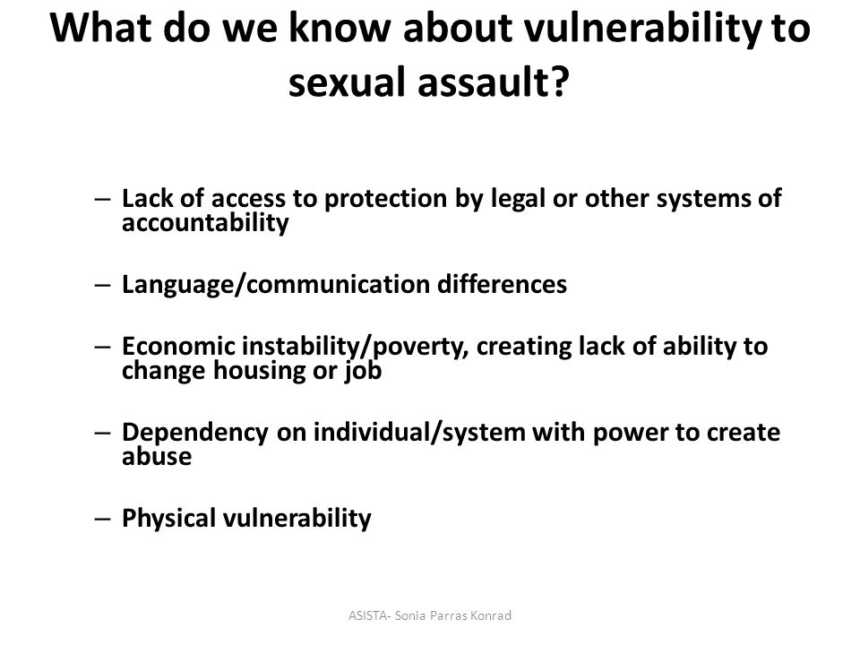 Definition of sexual violence