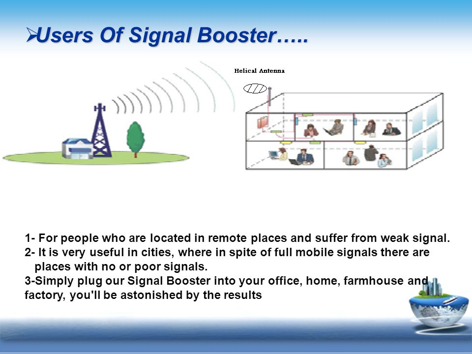  Users Of Signal Booster…..