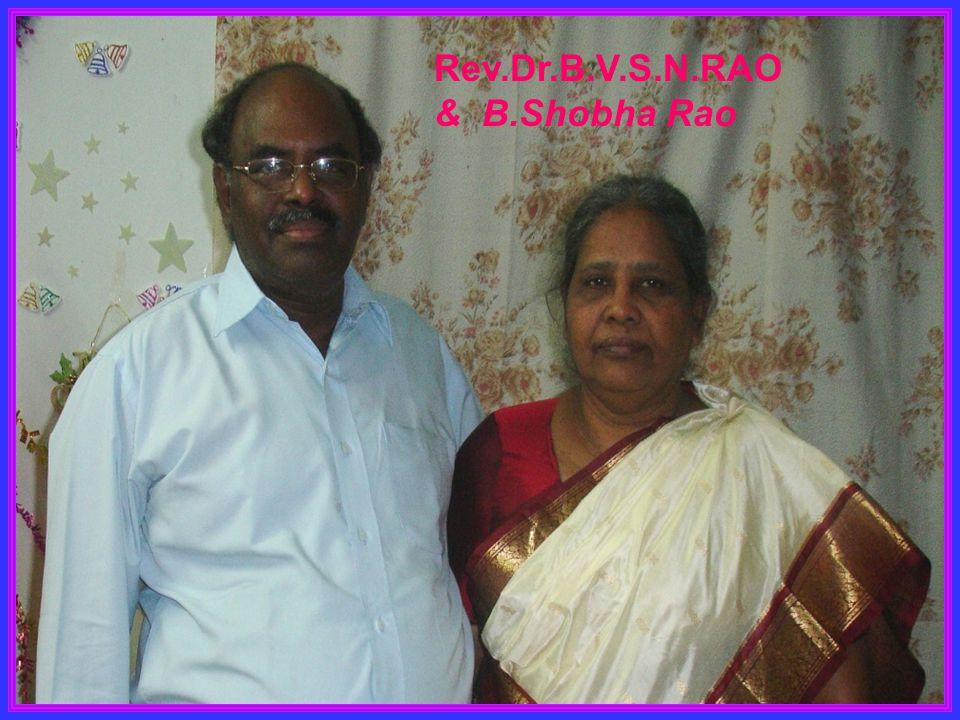 Rev.Dr.B.V.S.N.RAO & B.Shobha Rao