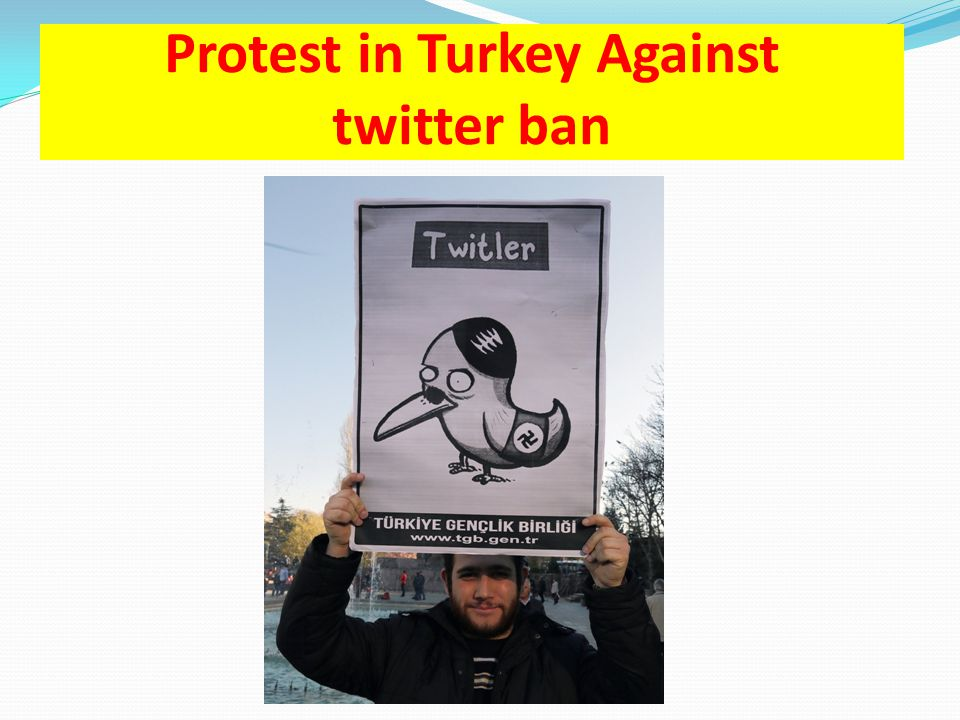 Protest in Turkey Against twitter ban