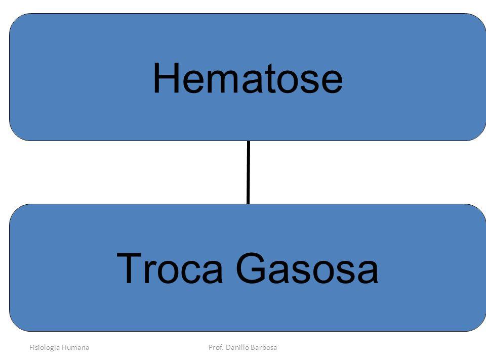 Fisiologia HumanaProf. Danillo Barbosa Hematose Troca Gasosa