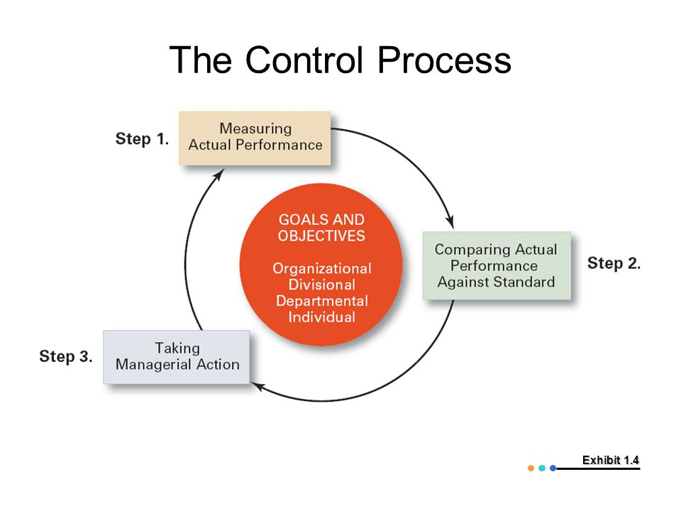 Exhibit 1.4 The Control Process
