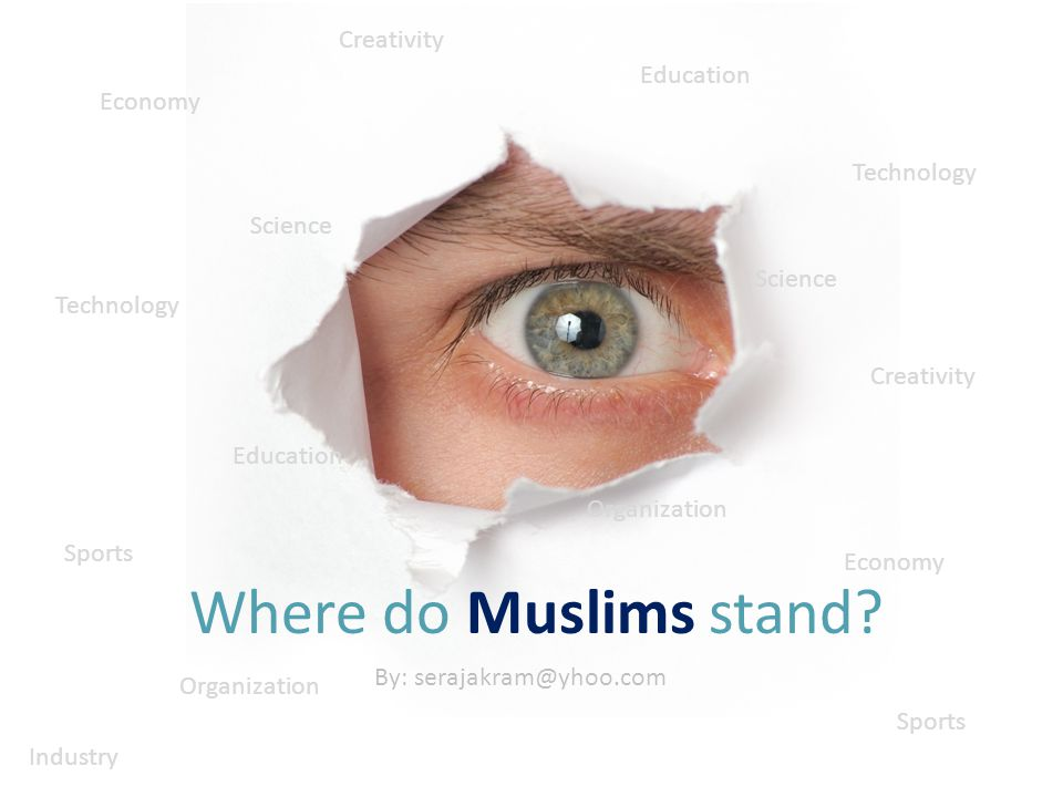 Where do Muslims stand.