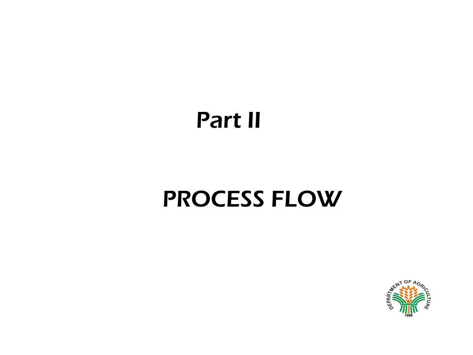 PROCESS FLOW Part II