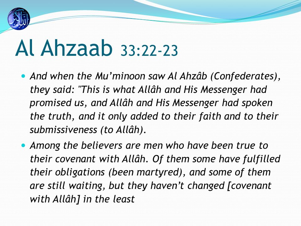 Muhammad 47:38 Behold.
