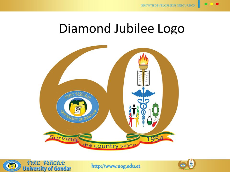 Diamond Jubilee Logo GROWTH DEVELOPMENT INNOVATION