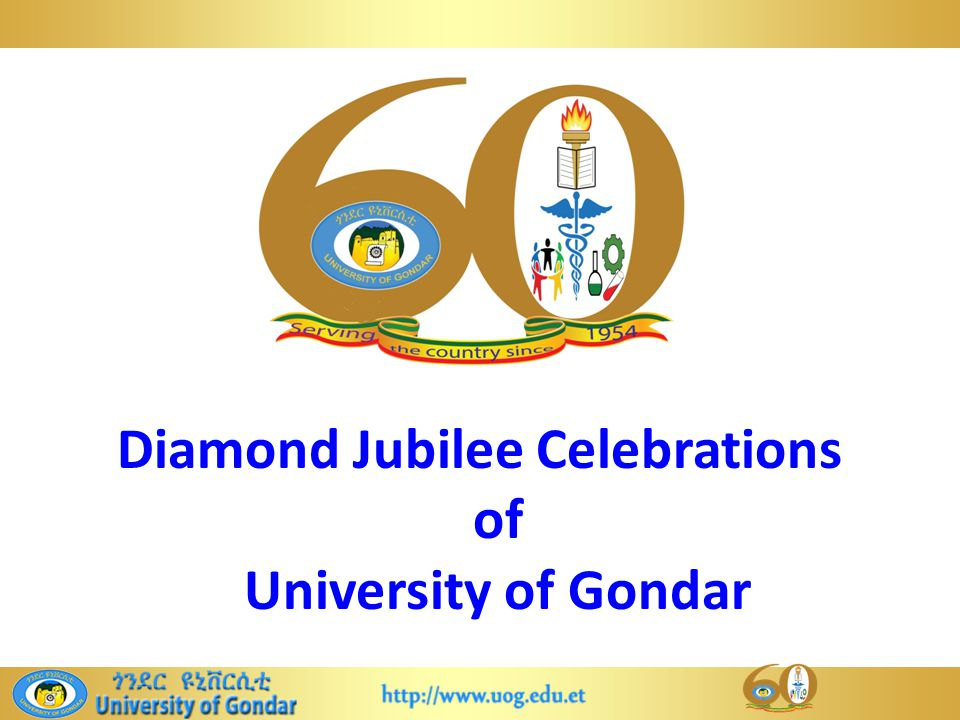 Diamond Jubilee Celebrations of University of Gondar