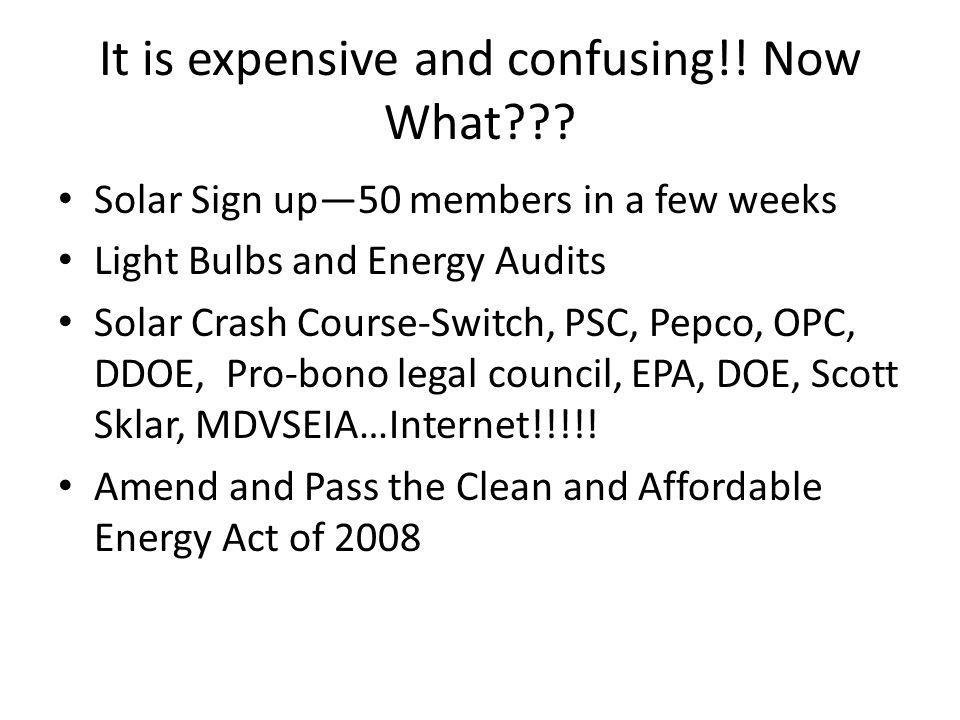Cost of Going Solar in DC 4 Ways to Save.1.DC Rebate $3/watt up to 3KW….