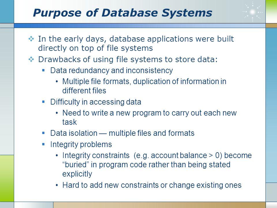 Other Data Models  Object-oriented data model  Object-relational data model