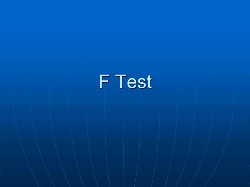 When we want to test the equality of variances of two normal populations, we make use of F- test based on F-distribution.