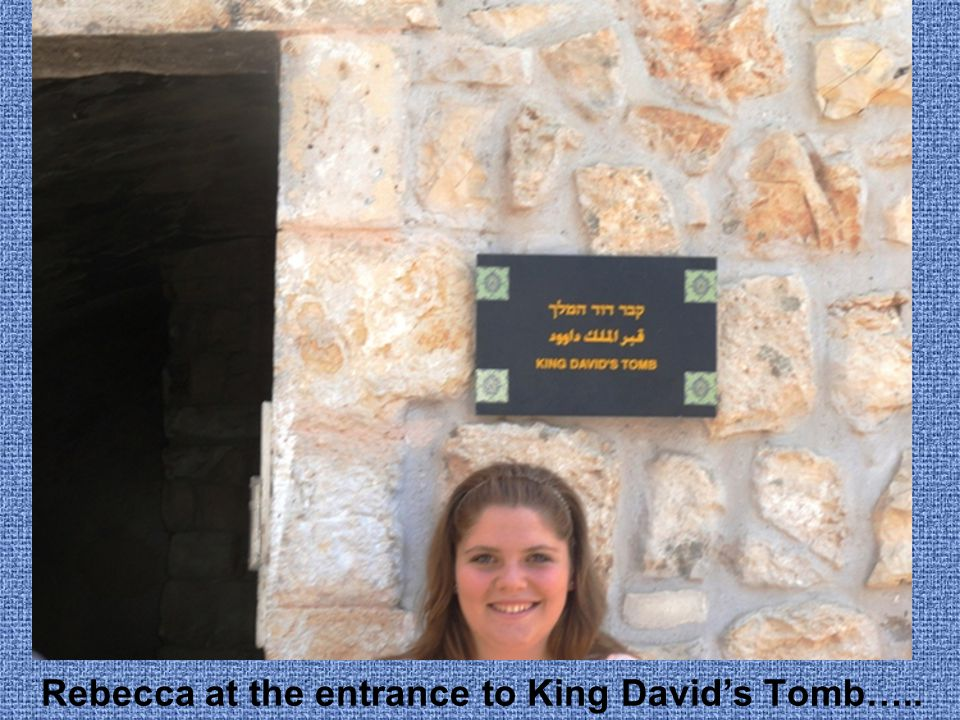 Rebecca in Ben Yehuda Street……..