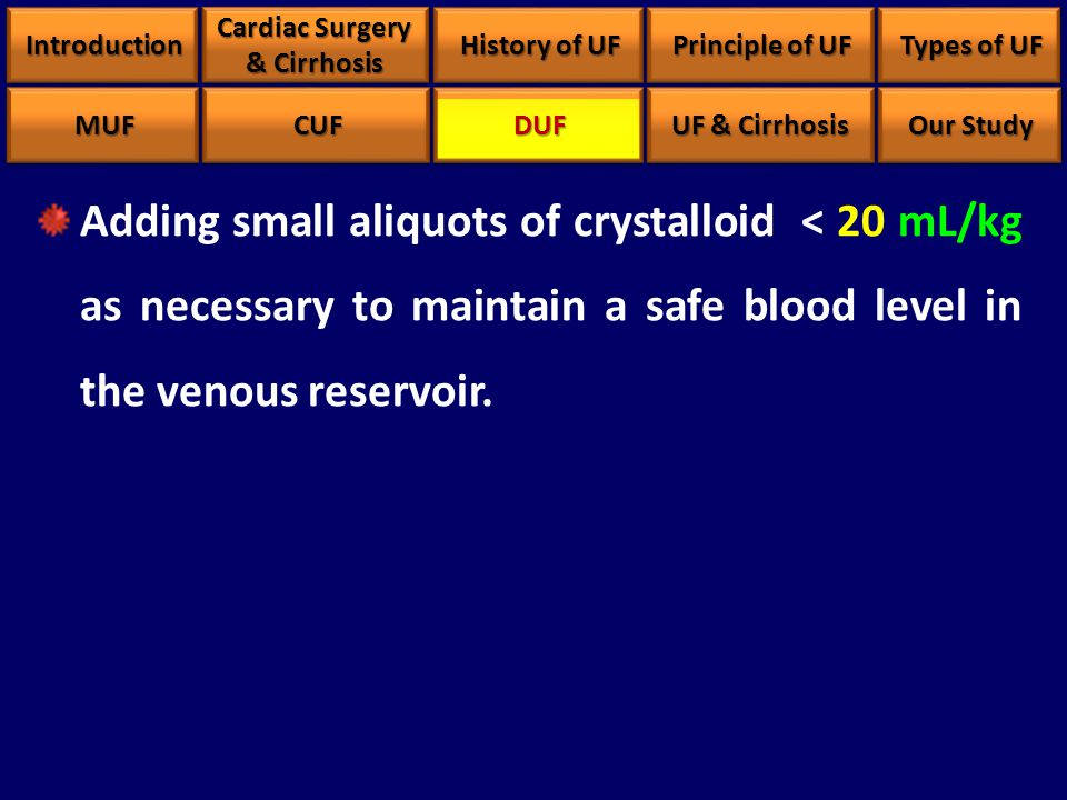 Adding small aliquots of crystalloid < 20 mL/kg as necessary to maintain a safe blood level in the venous reservoir.