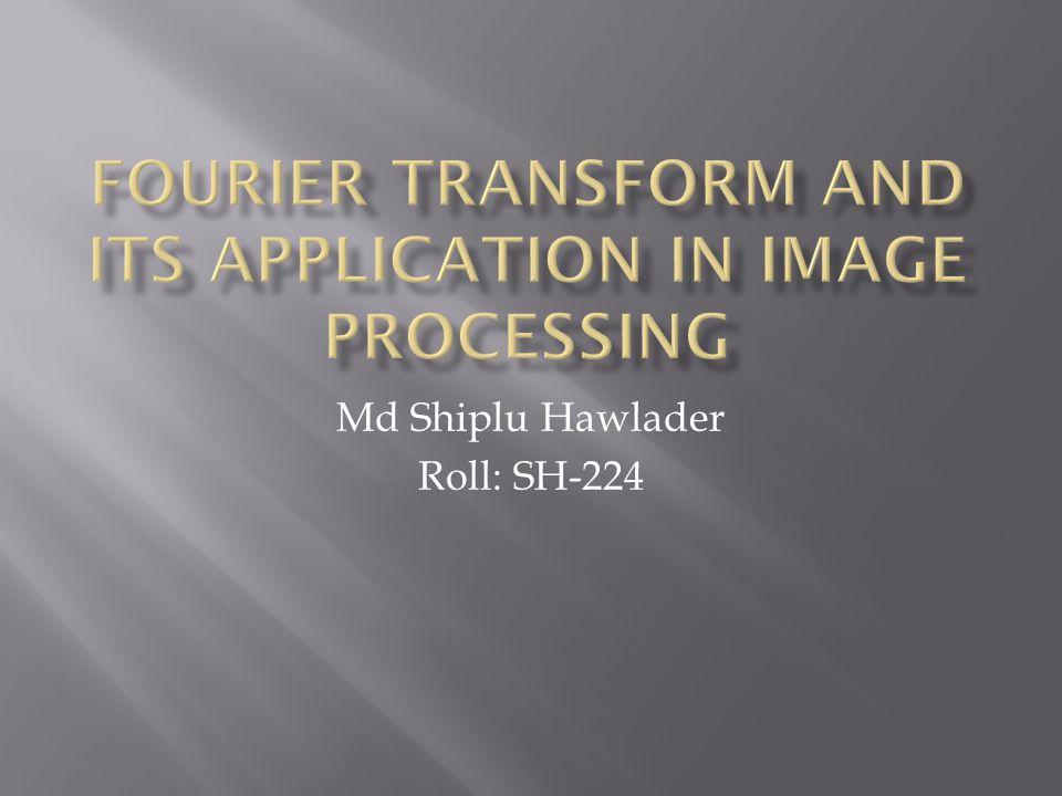 Md Shiplu Hawlader Roll: SH-224