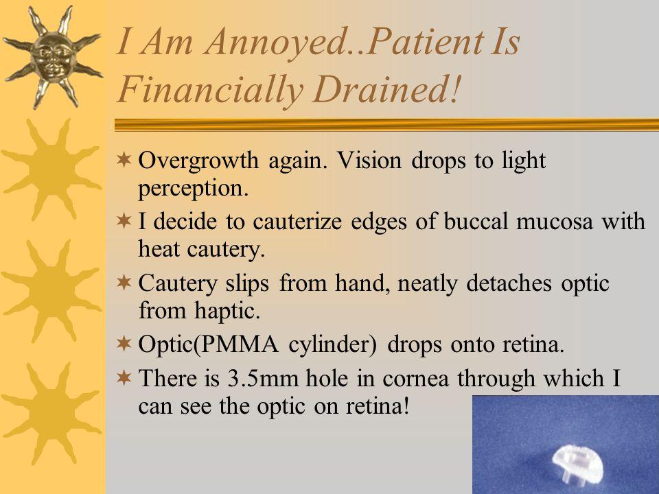 What Can I Do??????. I call 'friend' vitreo-retinal surgeon.