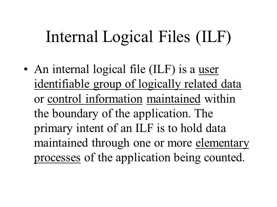 Data Functions: EIs, EOs and EQs External Inquiry –An external inquiry (EQ) is an elementary process that sends data or control information outside the application boundary.