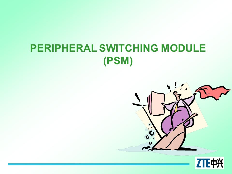 PERIPHERAL SWITCHING MODULE (PSM)