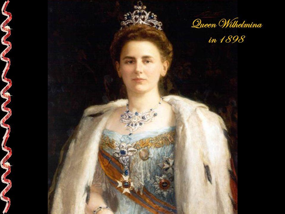 Queen Wilhelmina in 1898