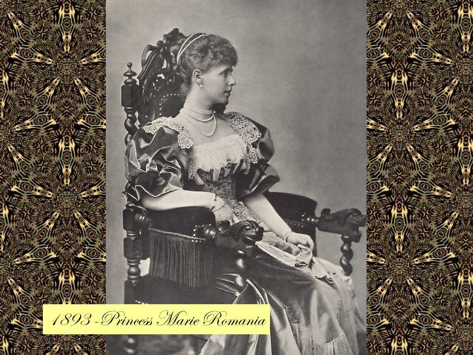 1893 -Princess Marie Romania