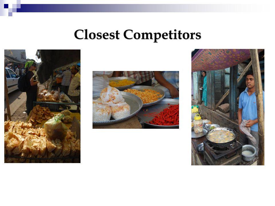 Closest Competitors
