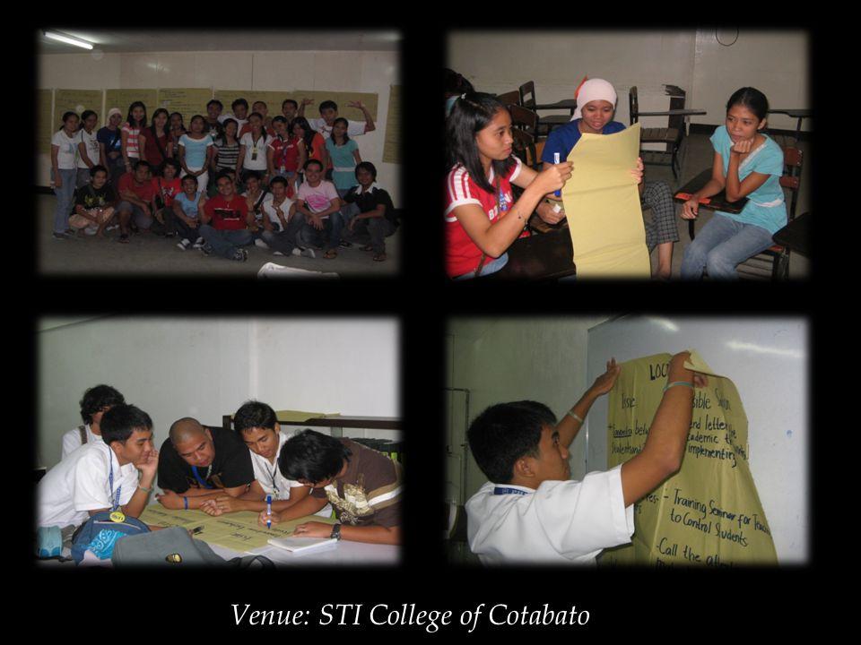 Venue: STI College of Cotabato