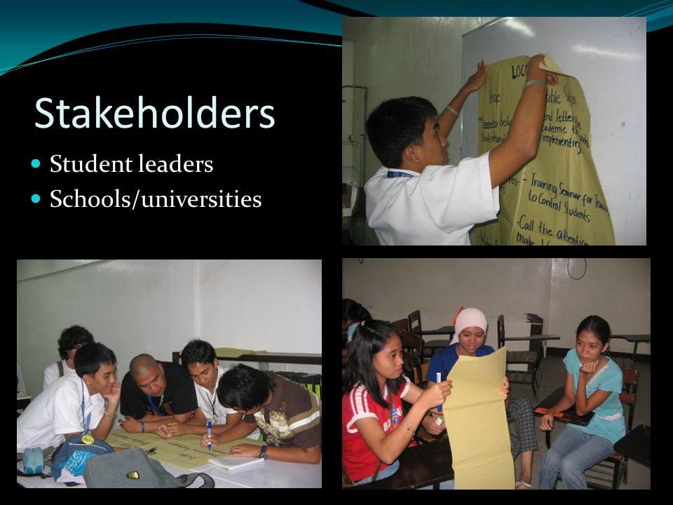 Young leaders Government offices/ business institutions