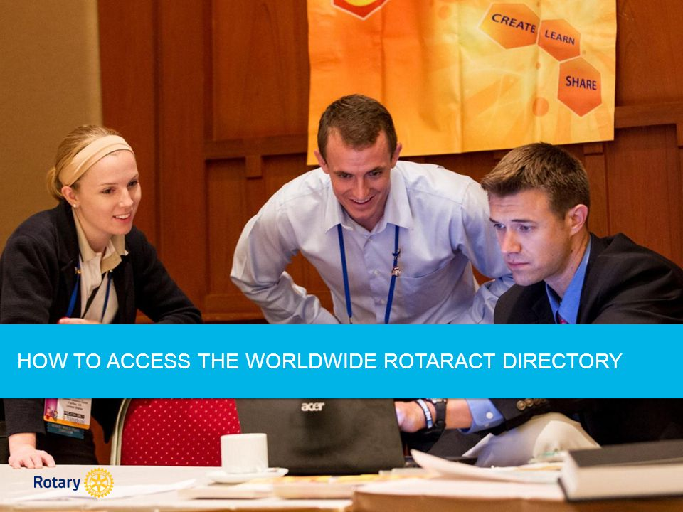 If your email address has been reported but you still don't see the Rotaract Workgroup, try signing out of Rotary.org and signing back in again.
