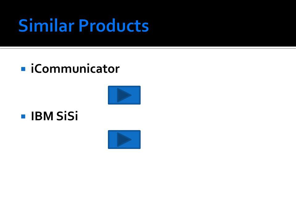  iCommunicator  IBM SiSi