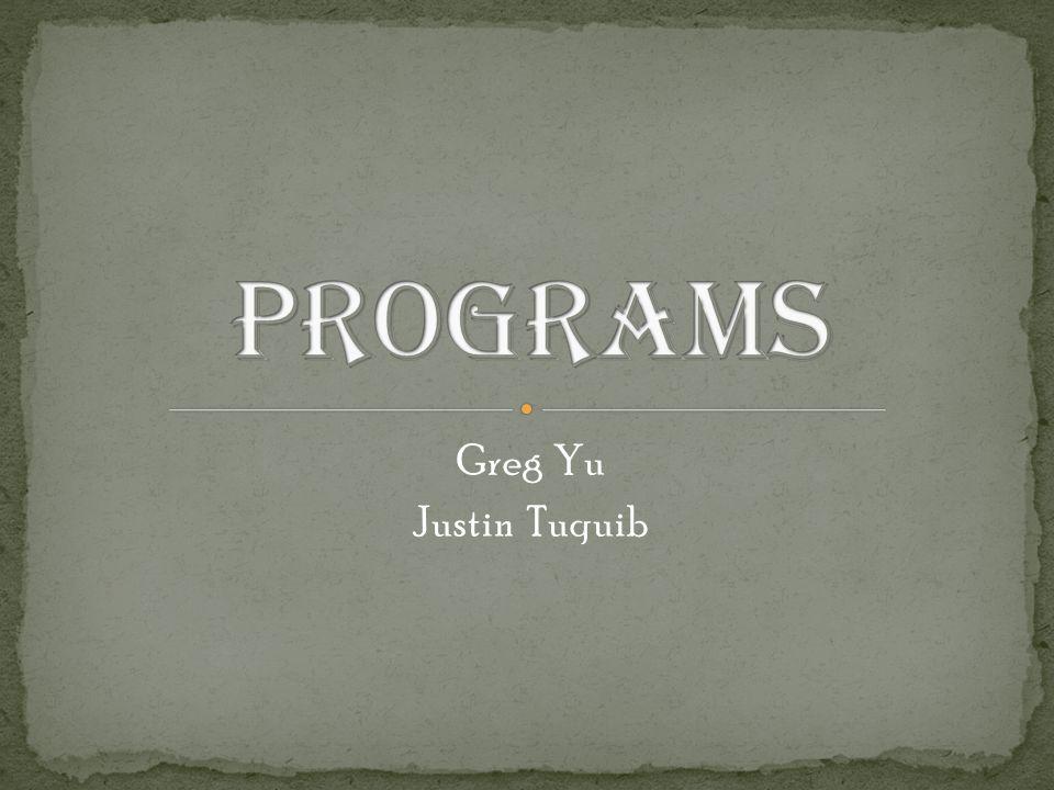 Greg Yu Justin Tuquib