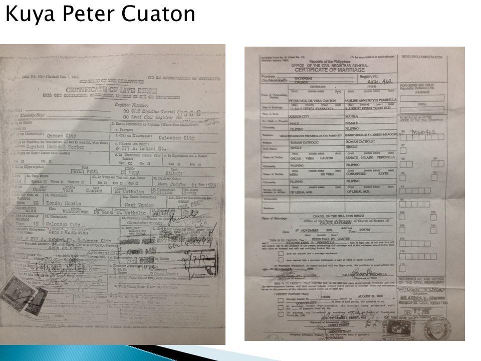 Kuya Peter Cuaton