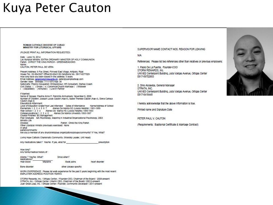 Kuya Peter Cauton