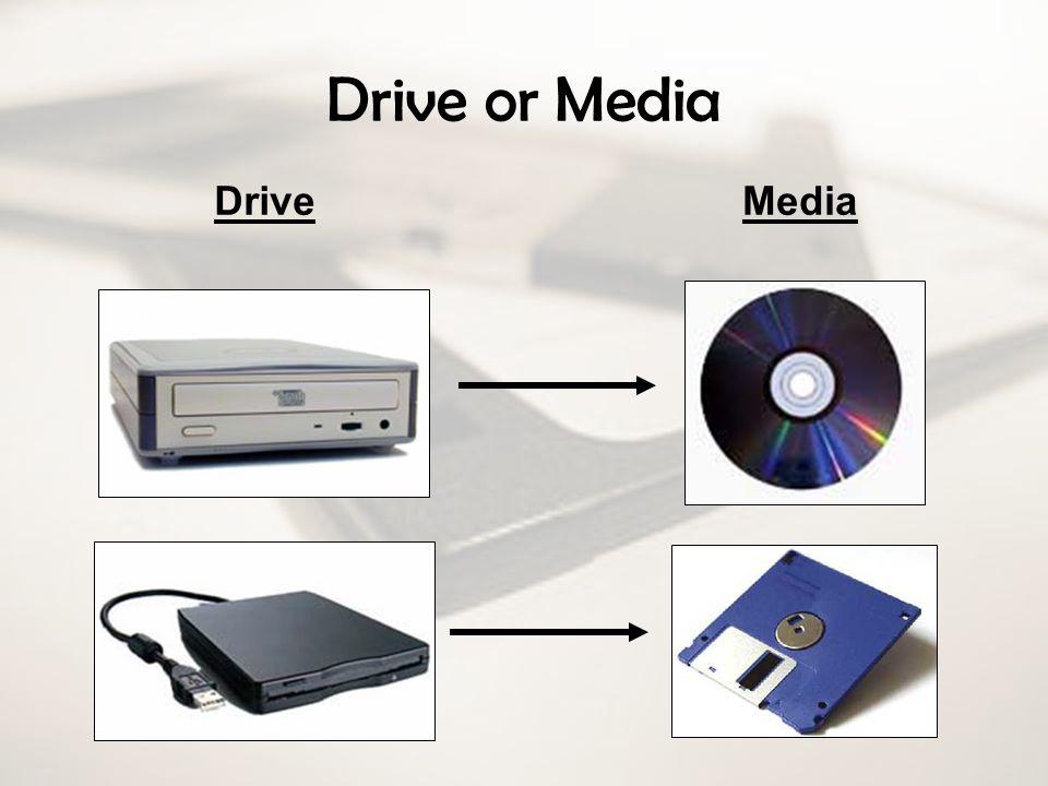 Drive or Media DriveMedia