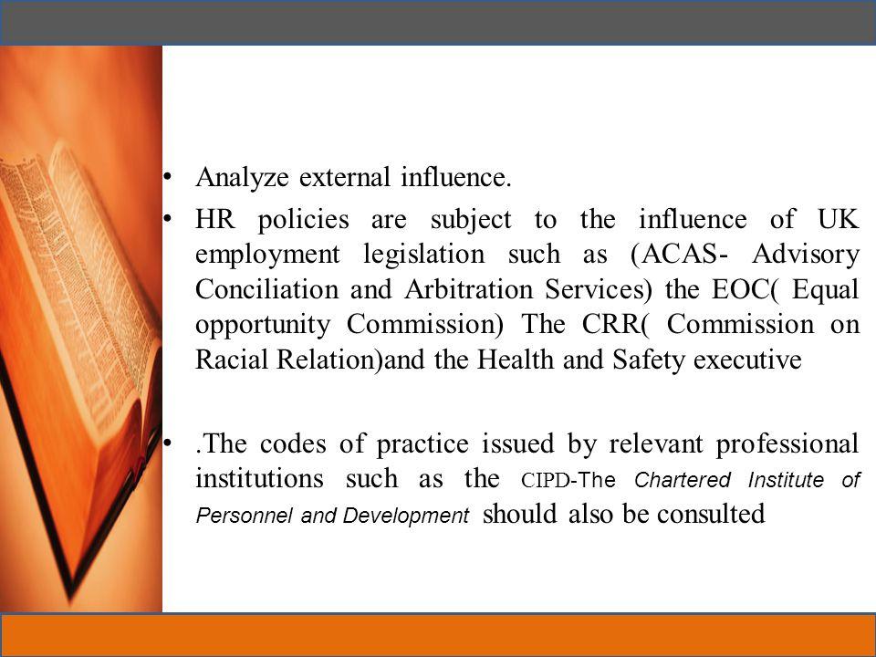 Formulation of HR Policies All organizations Have HR Policies.
