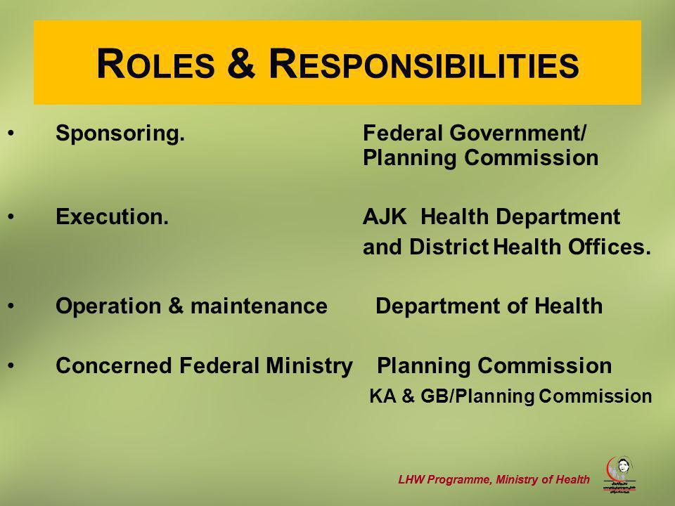 LHW Programme, Ministry of Health REGIONAL PROFILE Total population 4.2 (million) - Urban 12 (%) –Rural 88 (%) Total population Coverage 60 (%) Target population Coverage –Urban 40 (%) –Rural 62 (%)