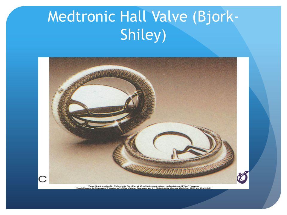 Medtronic Hall Valve (Bjork- Shiley)
