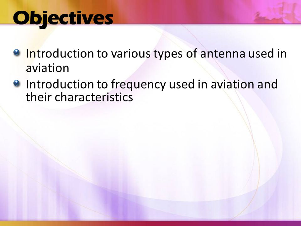 Question Names two types of two way communication radios (frequencies) used on an aircraft.