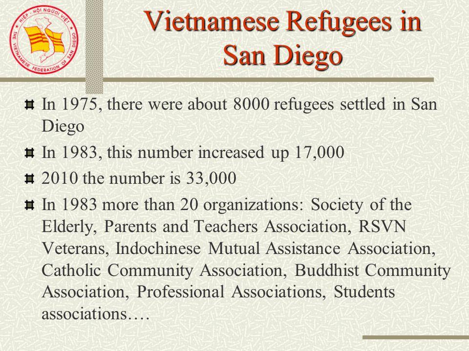 HiỆP HỘI NGƯỜI ViỆT SAN DIEGO Vietnamese Federation of San Diego 1985-2010