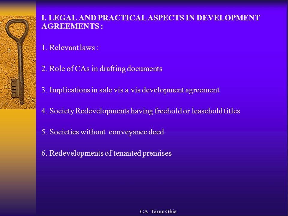 CA.Tarun Ghia 10. Application of income vs. diversion of income by overriding title 11.