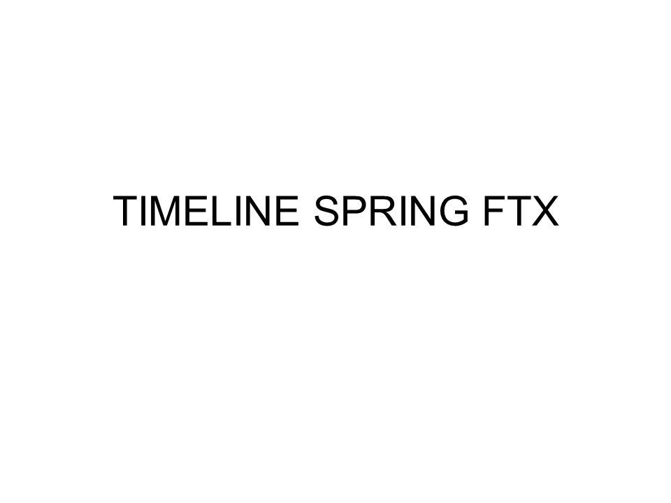 TIMELINE SPRING FTX