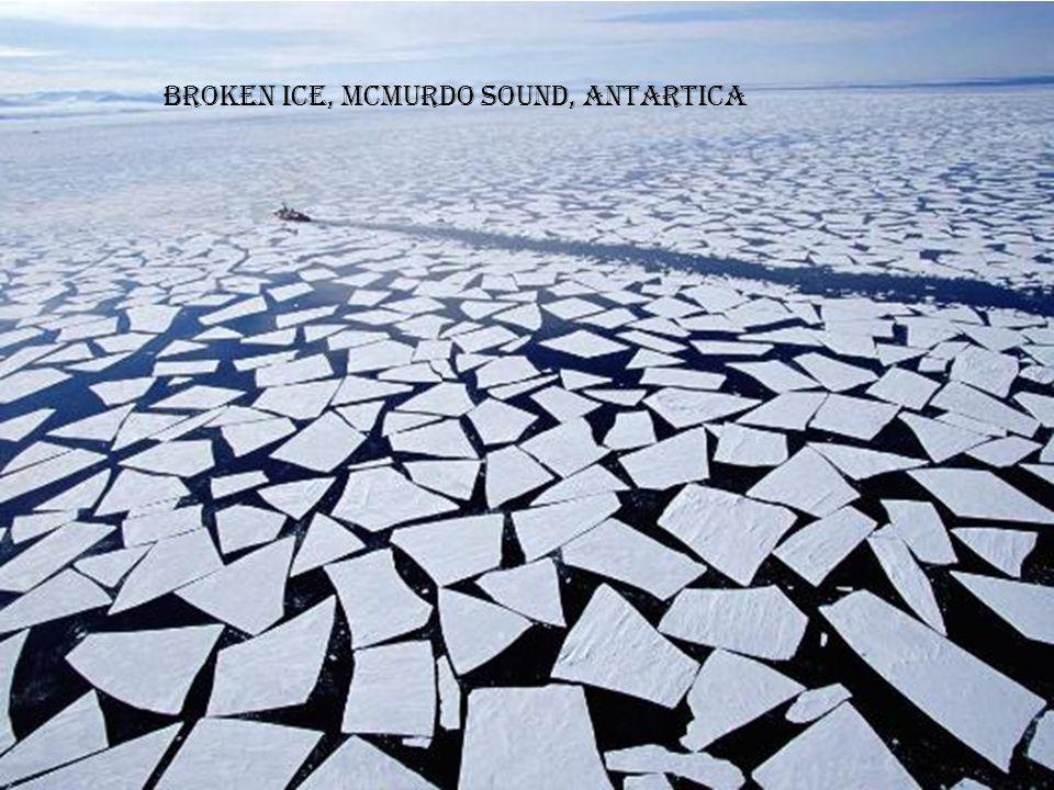 Ice-breaker, Antartica