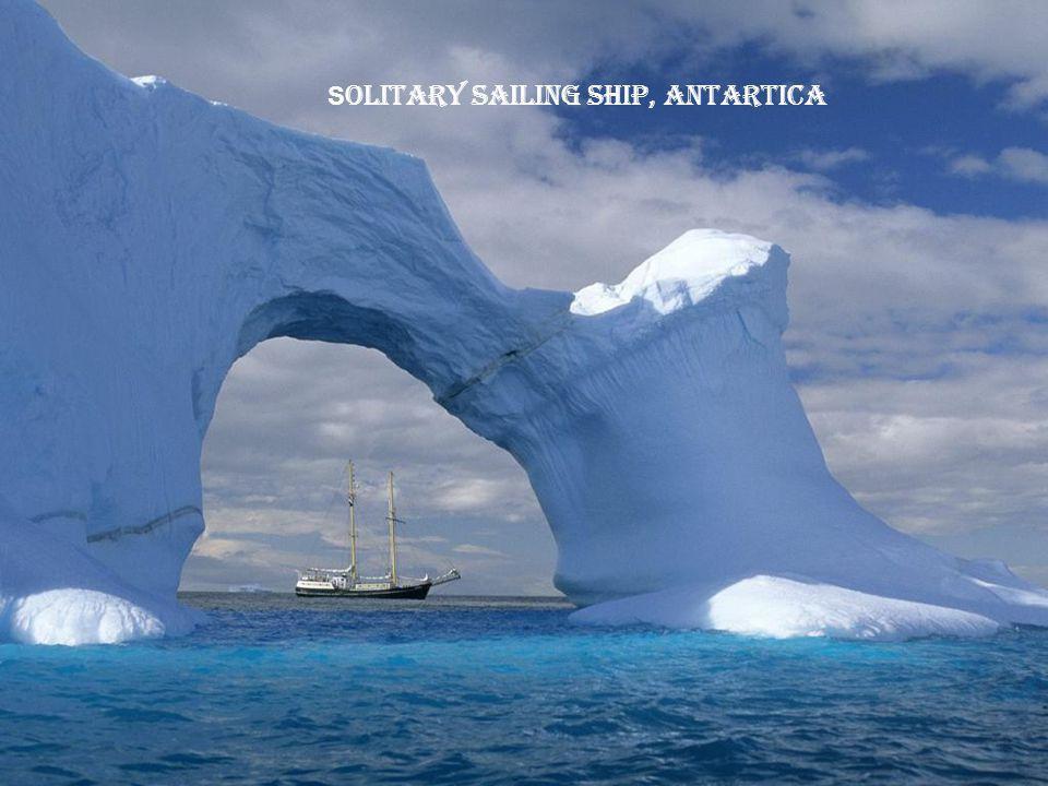 E roded Iceberg, Lemaire Channal, Antartica