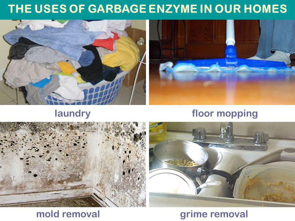 laundry floor mopping Photos source: http://www.ueog.org mold removal grime removal THE USES OF GARBAGE ENZYME IN OUR HOMES