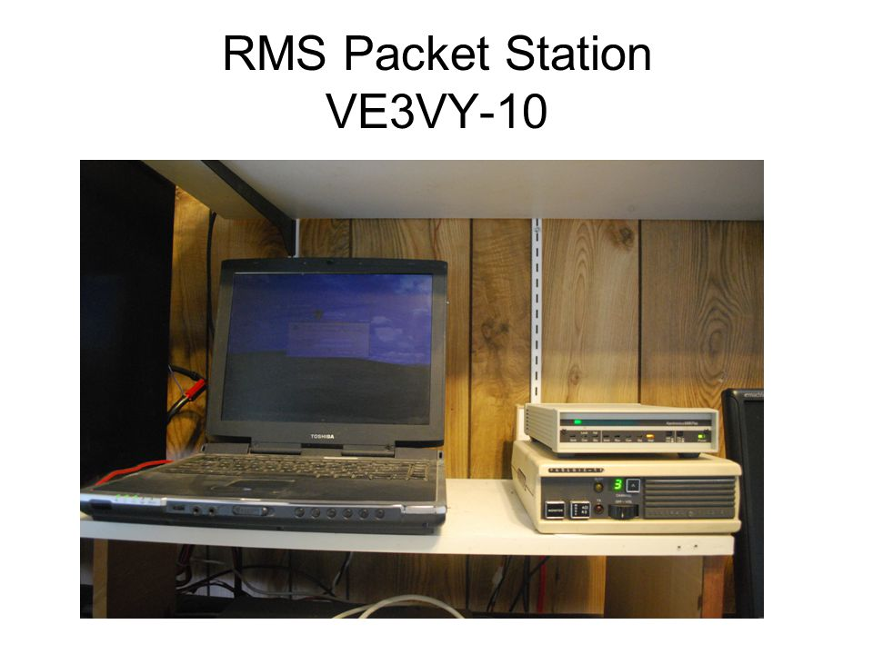 RMS Packet Station VE3VY-10