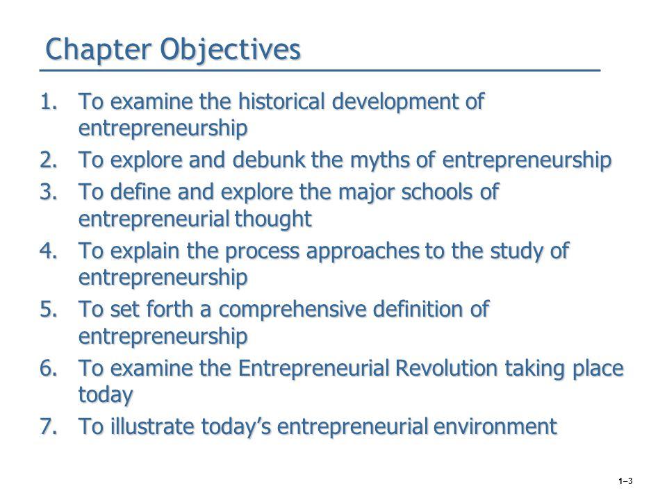 Becoming an entrepreneur.