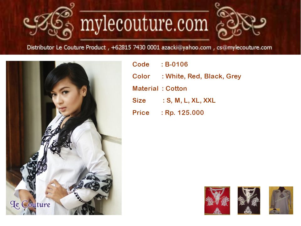 Code : B-0106 Color : White, Red, Black, Grey Material : Cotton Size : S, M, L, XL, XXL Price : Rp. 125.000