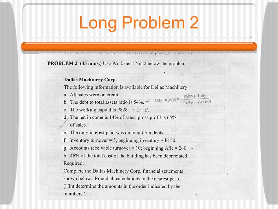 Long Problem 2