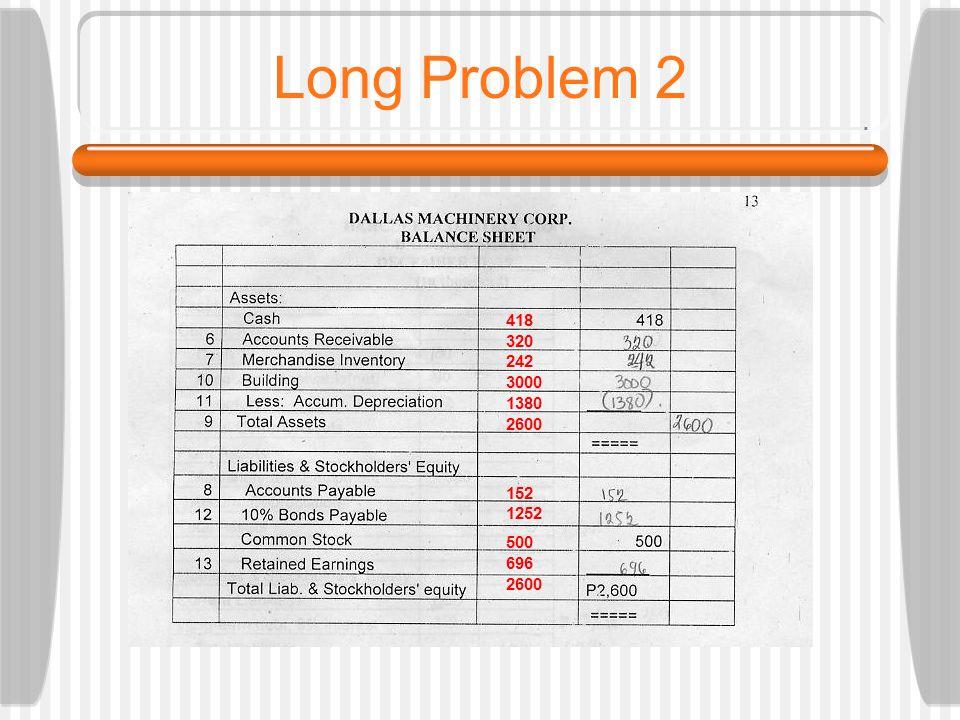 Long Problem 2 418 320 242 3000 1380 2600 152 1252 500 696 2600